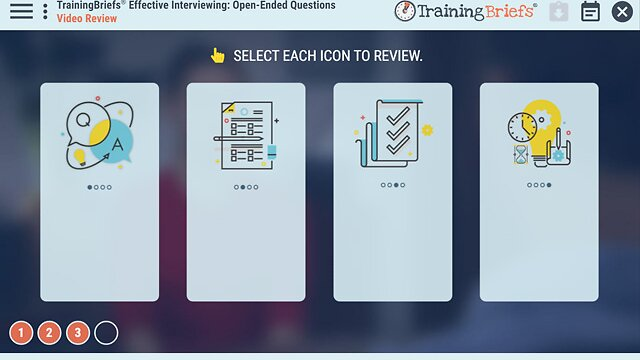 TrainingBriefs® Effective Interviewing: Open-Ended Questions