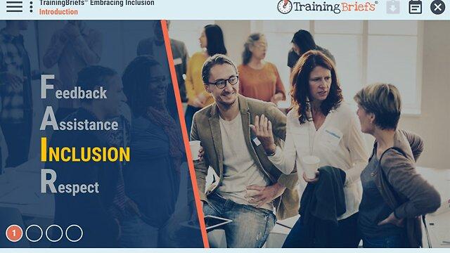 TrainingBriefs® Embracing Inclusion