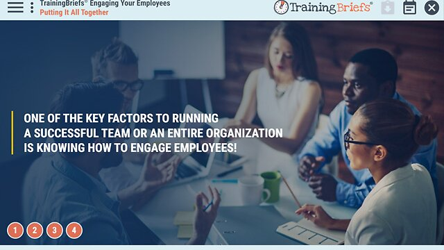 TrainingBriefs™ Engaging Your Employees