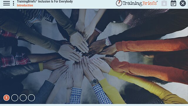 TrainingBriefs™ Inclusion Is for Everybody