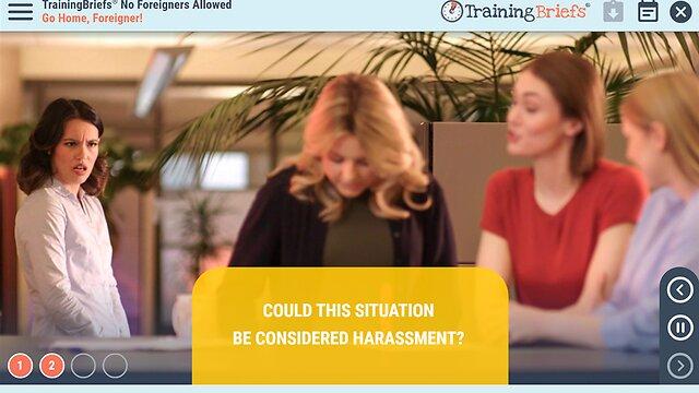 TrainingBriefs™ No Foreigners Allowed