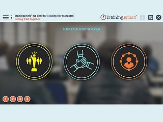 TrainingBriefs™ No Time for Training (for Managers)