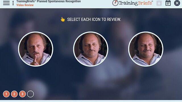 TrainingBriefs® Planned Spontaneous Recognition