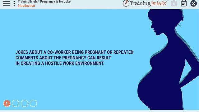 TrainingBriefs™ Pregnancy is No Joke