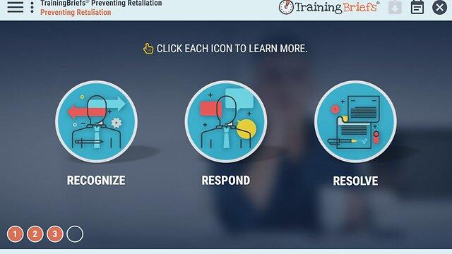 TrainingBriefs™ Preventing Retaliation