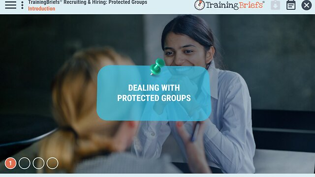 TrainingBriefs® Recruiting & Hiring: Protected Groups