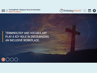 TrainingBriefs™ Religious Terms & Information