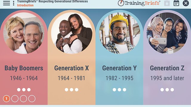 TrainingBriefs™ Respecting Generational Differences