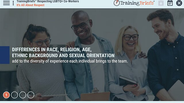 TrainingBriefs® Respecting LGBTQ+ Co-Workers
