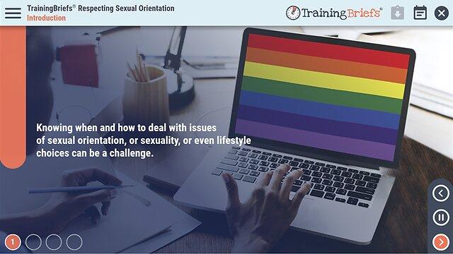 TrainingBriefs™ Respecting Sexual Orientation