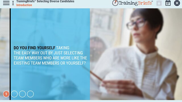 TrainingBriefs® Selecting Diverse Candidates