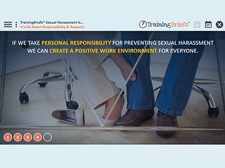 TrainingBriefs® Sexual Harassment Is...