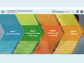 TrainingBriefs® Solving Attendance Issues