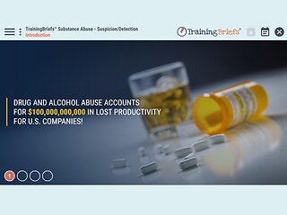 TrainingBriefs® Substance Abuse - Suspicion/Detection