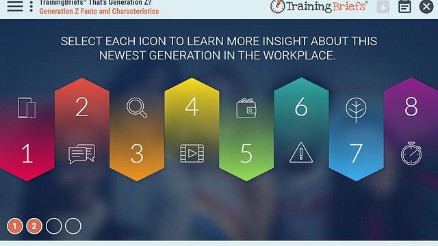 TrainingBriefs™ That's Generation Z?