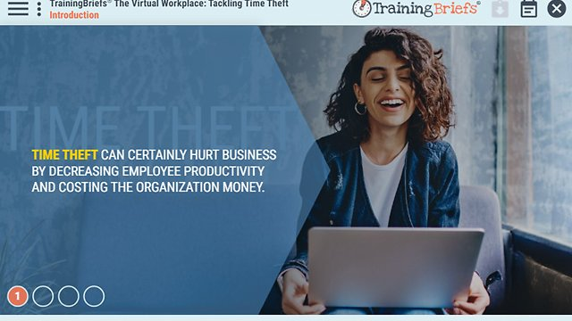 TrainingBriefs® The Virtual Workplace: Tackling Time Theft