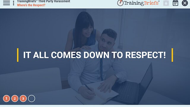 TrainingBriefs™ Third Party Harassment