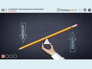 TrainingBriefs™ Understanding Decision-Making Styles
