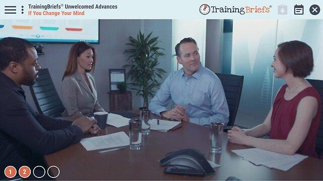 TrainingBriefs® Unwelcomed Advances