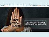 TrainingBriefs® Violence Prevention: Pre-Employment Screening