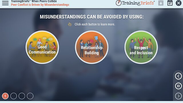 TrainingBriefs® When Peers Collide