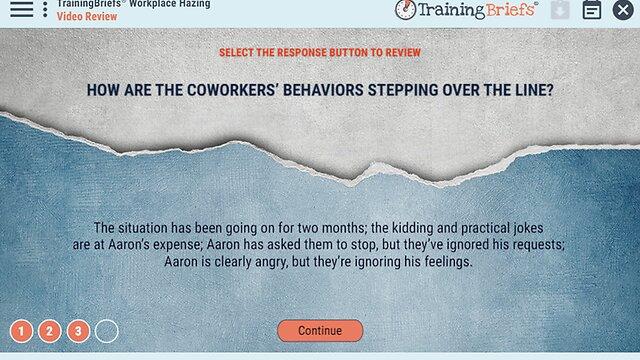 TrainingBriefs™ Workplace Hazing