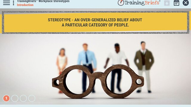 TrainingBriefs™ Workplace Stereotypes
