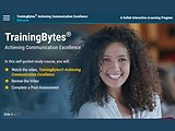TrainingBytes® Achieving Communication Excellence (eLearning)