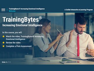 TrainingBytes® Increasing Emotional Intelligence (eLearning)