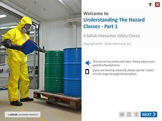 Understanding The Hazard Classes™ - Part 1