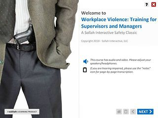 Workplace Violence - For Supervisors & Managers™ (of Hourly Employees)