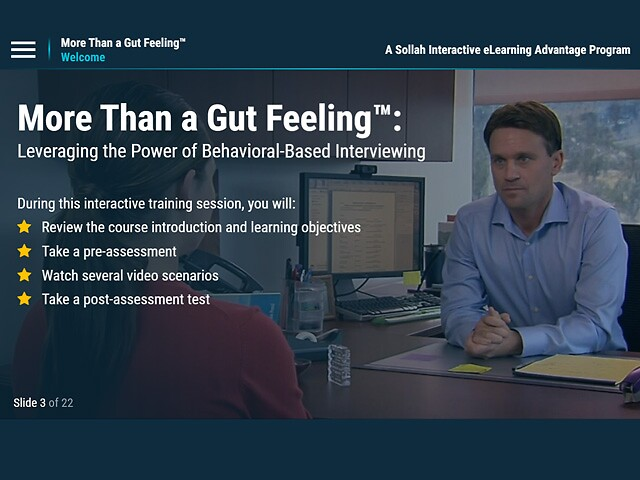 More Than a Gut Feeling™ eLearning Program Has Been Released!