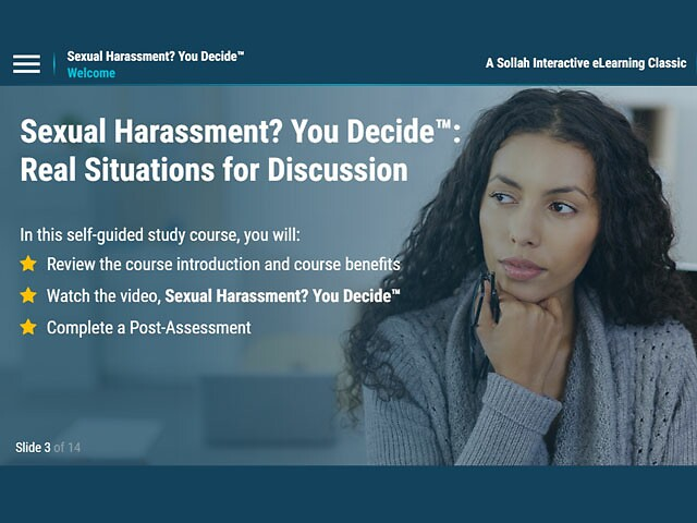 Flexible Sexual Harassment Prevention Training That Sticks