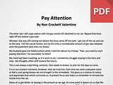 Article: Pay Attention