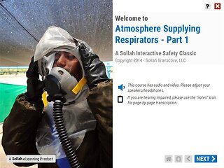 Atmosphere Supplying Respirators™ - Part 1