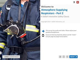 Atmosphere Supplying Respirators™ - Part 2