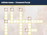 Attitude Issues - Interactive Crossword Puzzle