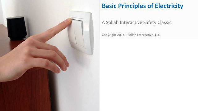 Basic Principles of Electricity™ (Safety Classic eLearning Course)