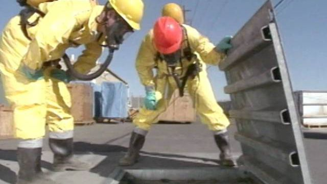Breathing in High Hazard Zones with Atmosphere-Supplying Respirators