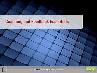 Coaching and Feedback Essentials: An Advantage eLearning Course