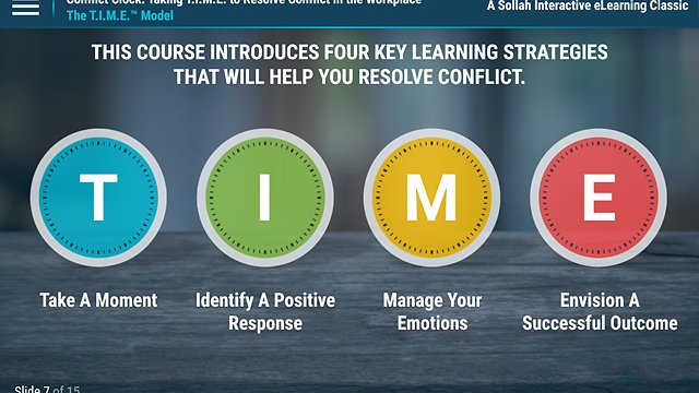 Conflict Clock™ (eLearning Classic)