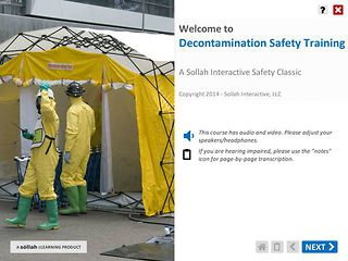 Decontamination Safety Training™
