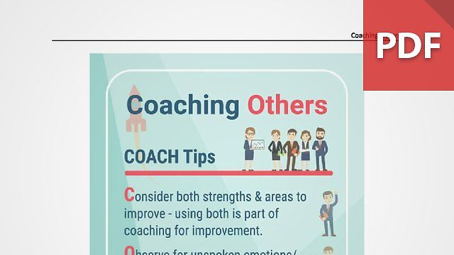 Discussion Card: Coaching Others
