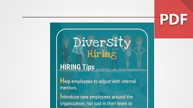 Discussion Card: Diversity in Hiring