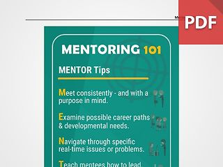 Discussion Card: Mentoring 101