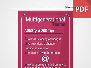 Discussion Card - Multigenerational Teams