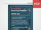 Discussion Card: Providing & Receiving Feedback