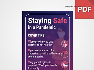 Discussion Card: Staying Safe in a Pandemic
