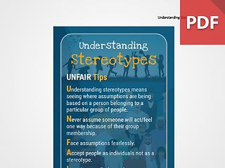 Discussion Card: Understanding Stereotypes