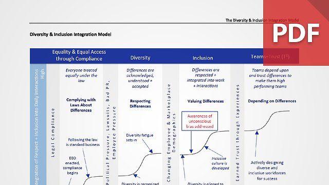 Diversity & Inclusion Integration Model